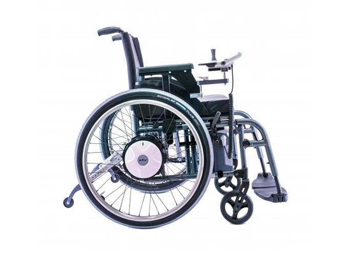 Električni dodatni pogon za invalidska kolica E - FIX