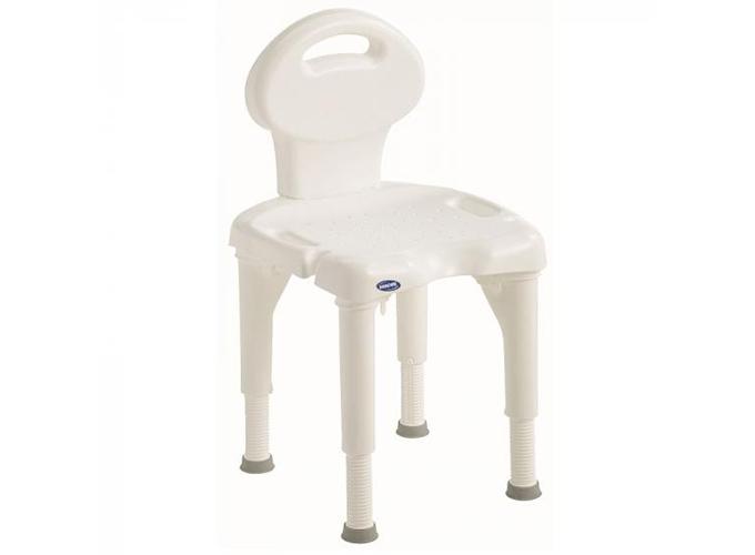 Stolica za tuširanje, sa naslonom, INV I-FIT 9781E