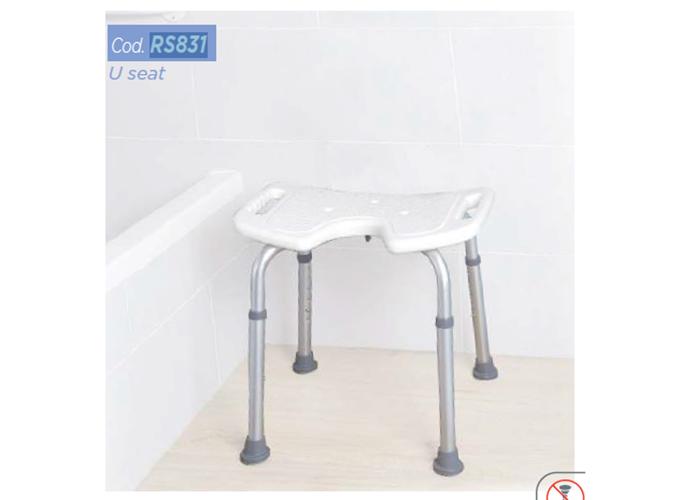 Stolac za tuširanje s higijenskim prorezom RS831